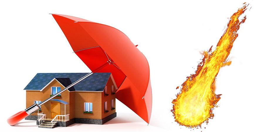Фото: Страхование имущества от пожара